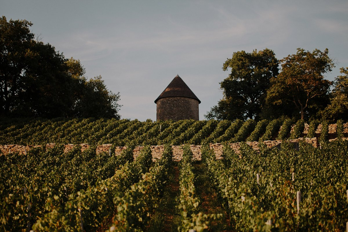 Burgundy Destination Wedding