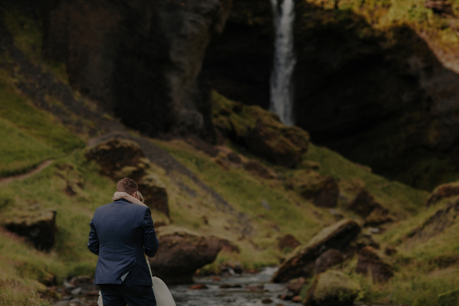 Iceland Waterfall Elopement