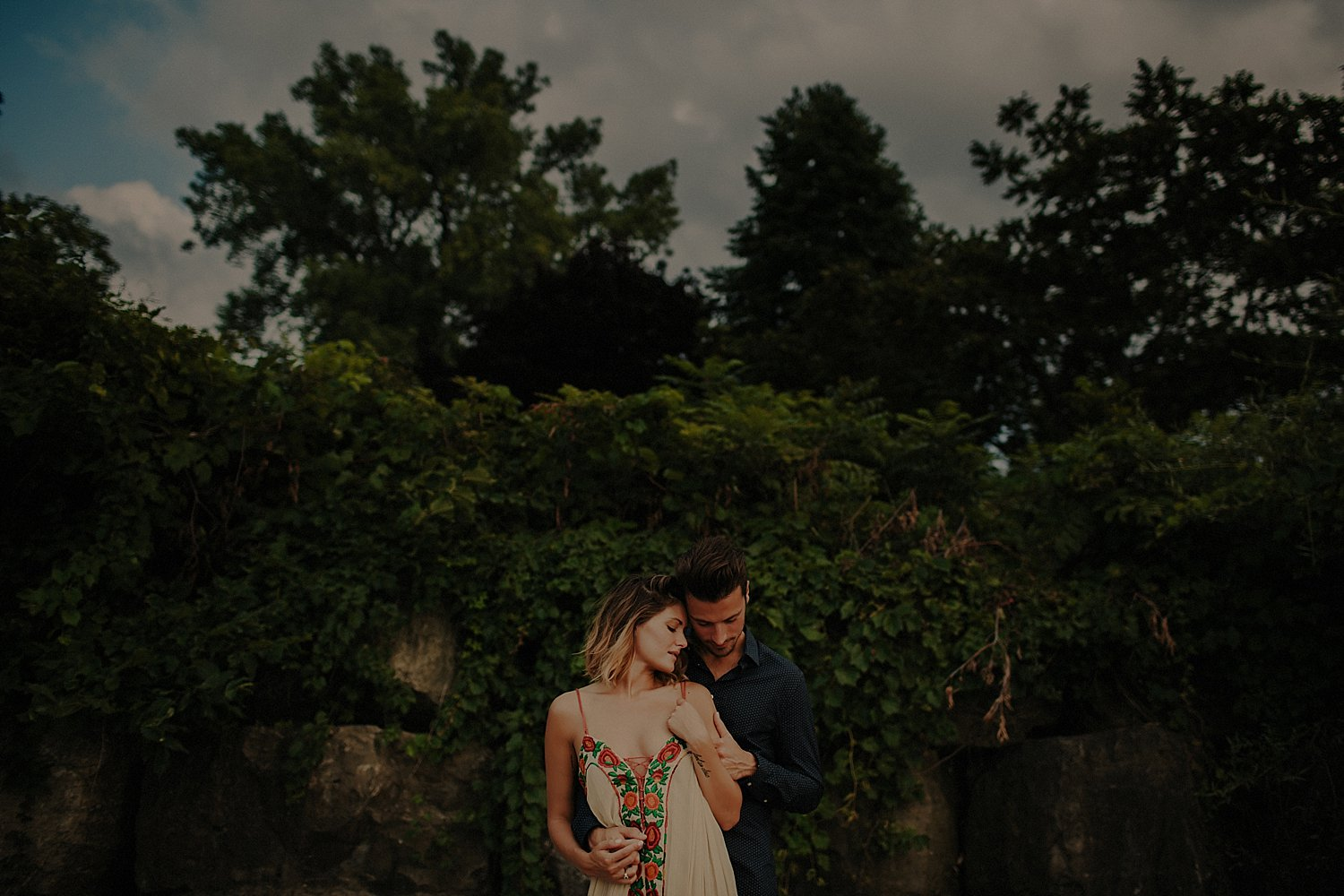 niagara on the lake engagement session