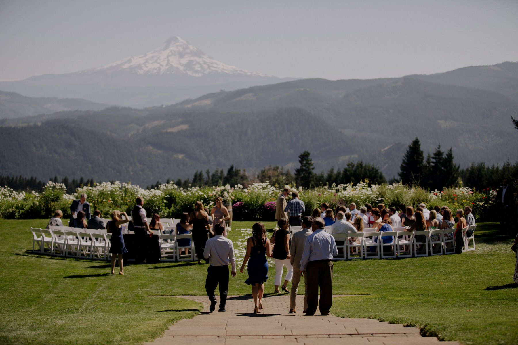 Gorge Crest Vineyard Wedding