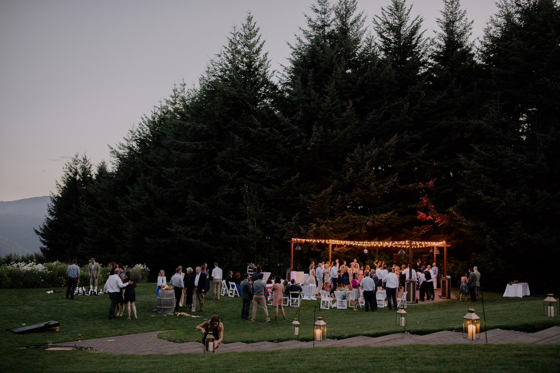 Columbia River Gorge Wedding