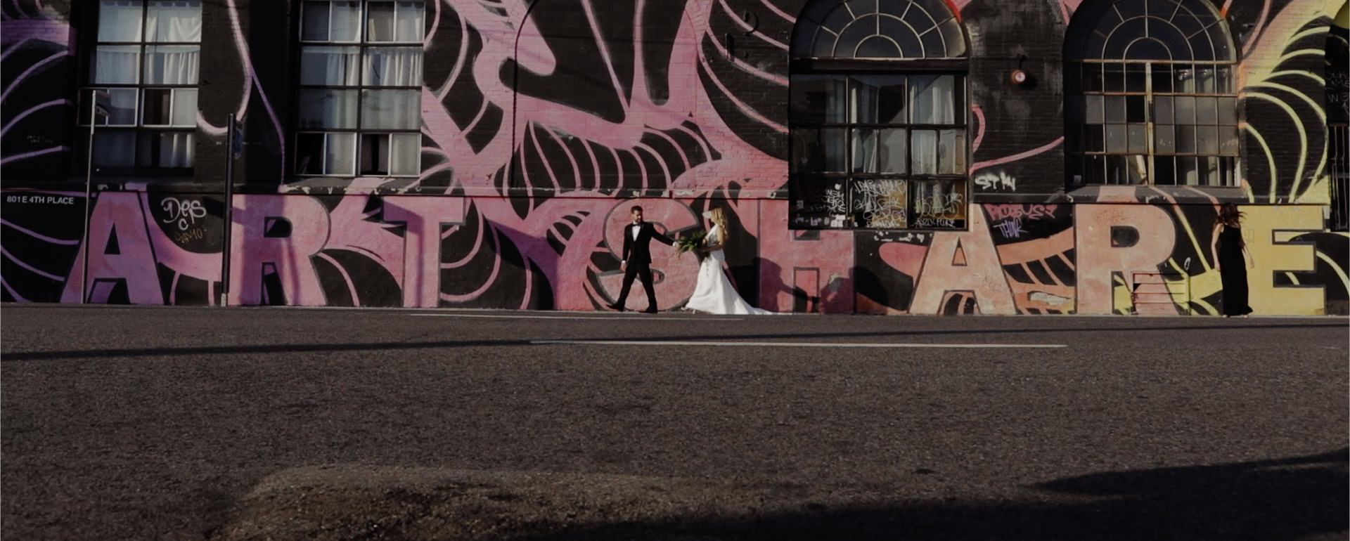 arts district los angeles wedding